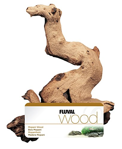 Fluval Mopani Driftwood - Small - 4 X 9.8 in by Fluval