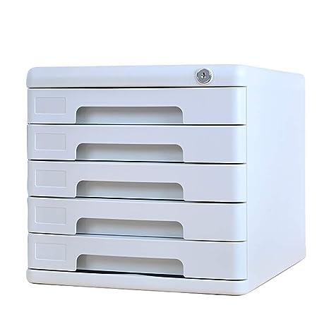 FTM® Gabinete para Archivos, Gabinete De Datos con Llave -5 Capas, Gabinete