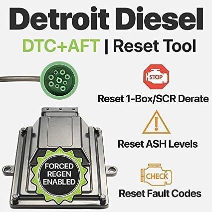 OTR Performance Detroit Diesel | Heavy Duty Diagnostic Tool | Force DPF  Regen | Soot Level Very High Reset | Ash Accumulator Reset | DD13 DD15 DD16  |