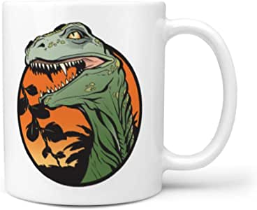 Clubdeer Dinosaur 11OZ Size Cup Fun Cup for Men/Women/Him ...