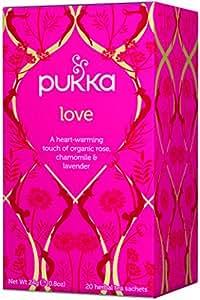 Pukka Herbs Love tea - 20 tea sachets,24g(0.8oz)