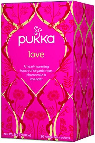 Pukka Herbs Love tea sachets product image
