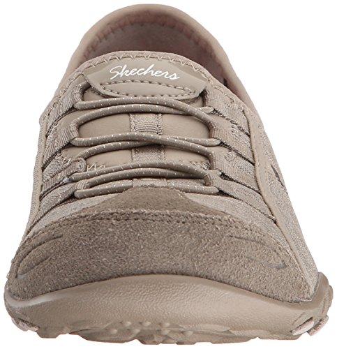 Skechers Damen Breathe-easy Allure Sneaker Beige