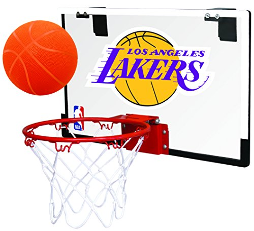 (Rawlings NBA Los Angeles Lakers 00664220111NBA Game On Polycarbonate Hoop Set (All Team Options), Red, Youth)