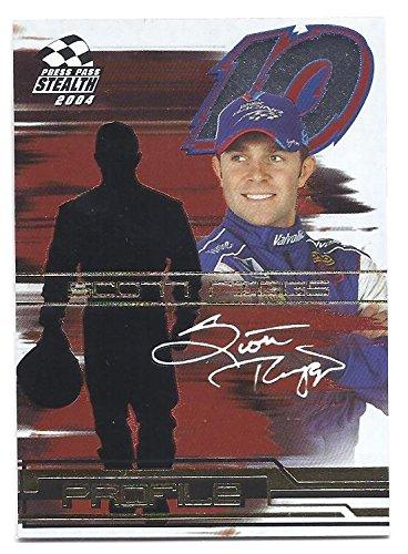 SCOTT RIGGS 2004 Press Pass Stealth Profile #PF8 Insert Card NASCAR Racing (Scott Nascar Riggs)