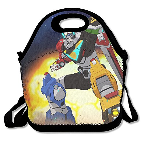 Voltron Travel Tote Lunch Bag