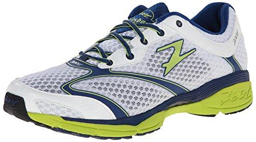 Zoot M Carlsbad, Chaussures de running homme Weiß - Blanc (White/Navy/Green)