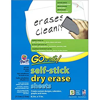 dry erase roll home depot