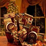 Gourmet Christmas Gift Basket: Holiday Elegance Premium Food Gift Basket