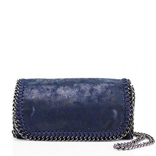 YourDezire - Bolso de tela para mujer azul marino