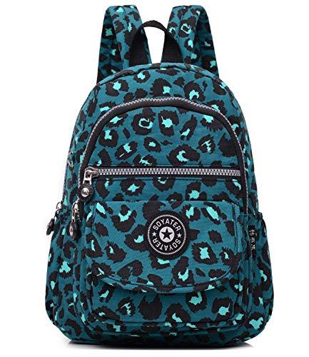 Kecartu Girls Lightweight Waterproof Nylon Backpack Durable Small Travel Daypack