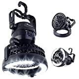 Best Camping Fans - LED Camping Gear Lantern Fan Gift – Cool Review