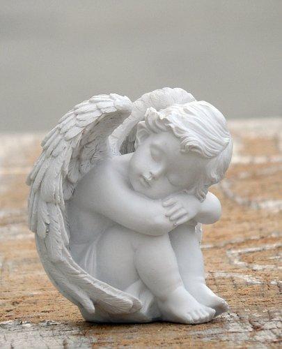 Baby Cherub (Loves Child Angel Cupid Home Decor Cherub Statue Baby Sculpture Figurine 858-177)