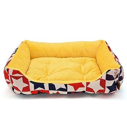 MHO Redondo Rectángulo Mascota Perro Cama Salón Sofá Cama De Perro Ortopédico Colchón De Mascotas para