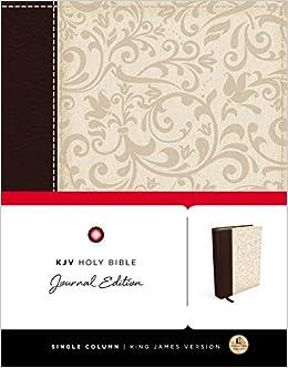 KJV, Holy Bible, Journal Edition, Imitation Leather (Bible Kjv