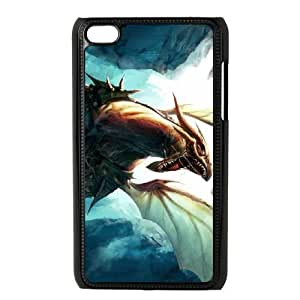Durable Rubber Cases Ipod Touch 4 Cell Phone Case Black Ogyvb Charizard Protection Cover