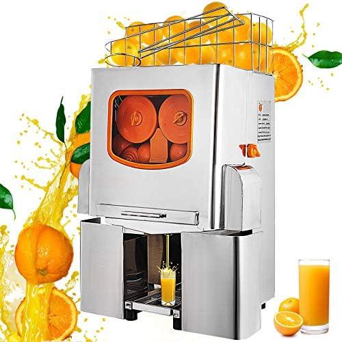 Anhon Exprimidor de Naranjas 120W Máquina Automática Comercial 20 ...