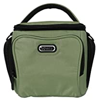 Bower Small Adjustable Dividers Dazzle Camera Accessory Bag - Green (SCB3900)
