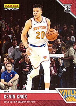 2018-19 Panini Instant Basketball  12 Kevin Knox Rookie Card New York Knicks  - 9f5bff56c