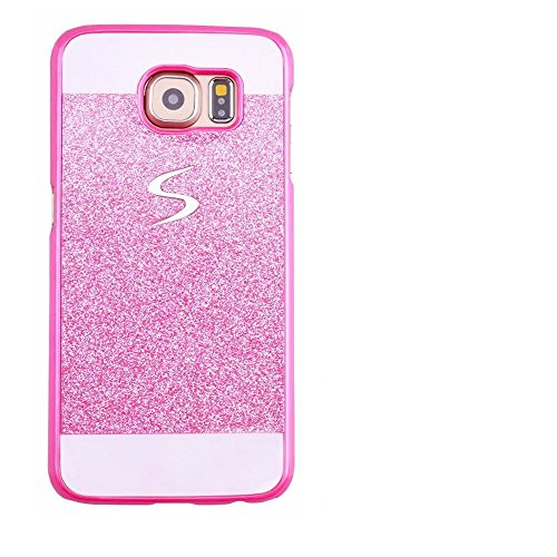 Price comparison product image Galaxy S8 Plus Case, Inspirationc eauty Luxury Diamond Hybrid Glitter Bling Hard Shiny Sparkling with Crystal Rhinestone Cover Case for Samsung Galaxy S8 Plus--Pink