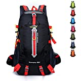 FCHO 40L Large Capacity Hiking backpack for Men and Women, Outdoor Breathable Waterproof Backpack Hiking Daypack