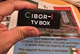 #6: Cibor-I Italian TV Live Stream Decoder Box - Watch Over 150 National & Regional Channels from Italy Now!