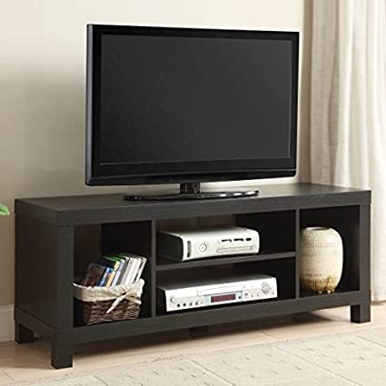small spaces tv stand for tvs black oak - Small Tv For Kitchen