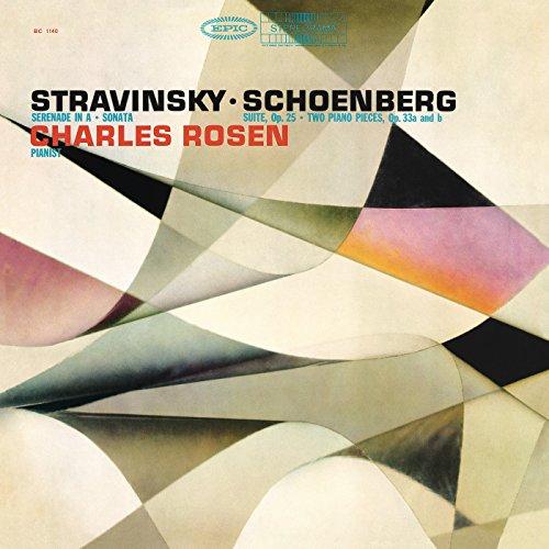 Stravinsky: Serenade in A Major & Piano Sonata - Schoenberg: Piano Pieces, Op. 33 & Suite for Piano, Op. (Igor Stravinsky Three Pieces)