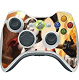 #9: Comic Book Hero Xbox 360 Wireless Controller Vinyl Decal Sticker Skin by Compass Litho