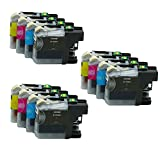 RIGHTINK Compatible Ink Cartridge Replacements for Brother LC 103 Ink LC-103BK LC-103C LC-103M LC-103Y (3 Black + 3 Cyan + 3 Magenta + 3 Yellow)
