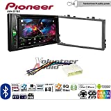 honda prelude radio touch screen - Volunteer Audio Pioneer AVH-201EX Double Din Radio Install Kit with CD Player Bluetooth USB/AUX Fits 1998-2002 Honda Accord, 1999-2005 Honda Civic (Excludes Si Models)