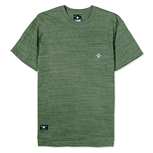 Lrg All Natural Knit T-shirt Olive Heather