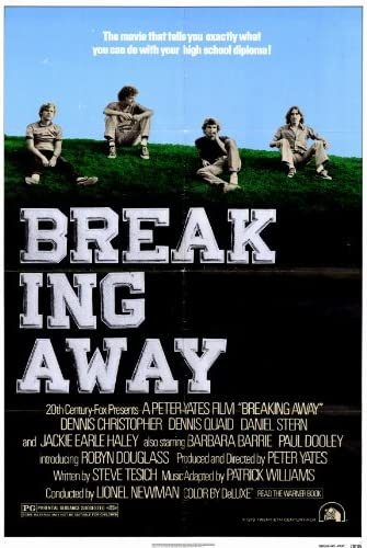 Amazon.com: Breaking Away 27x40 Movie Poster (1979): Prints: Posters &  Prints