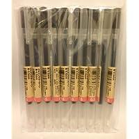 Bolígrafo de tinta de gel MUJI 0.5mm color negro 10 piezas