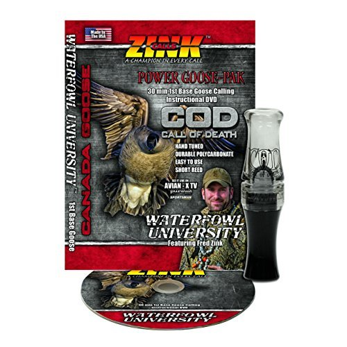 Zink Calls ZNK5066 Call of Death Goose Poly Combo Gunsmoke for sale  Delivered anywhere in Canada