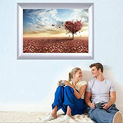 Wonmax 1000 Pieces Jigsaw Puzzles - Times Square Landscape Style, Chanllengeable Puzzles for Adults (Love Tree): Home & Kitchen