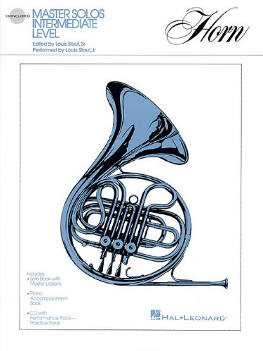 Master Solos Intermediate Level - French Horn: Book/CD (Horn Solos Book)
