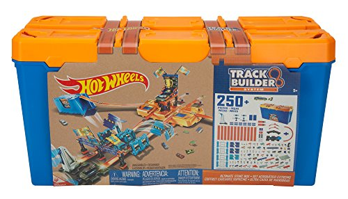 - Hot Wheels Track Builder Ultimate Stunt Box