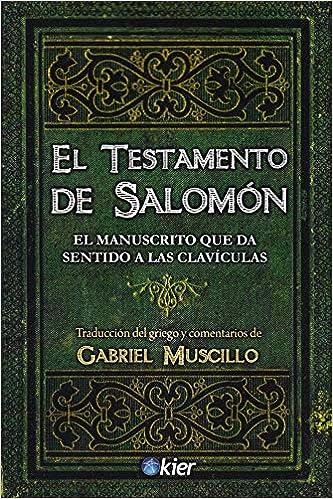 El testamento de salomón libro Amazon