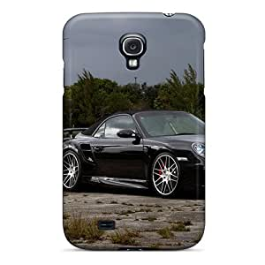 (KPF19784mziw)durable Protection Cases Covers For Galaxy S4(porsche 911 Turbo Black)