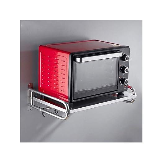 JLKDF Colgante Pared Rack Cocina Microondas, Estante para Colgar ...