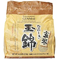 Tamanishiki Super Premium Brown Rice, 4.4-Pounds (Pack of 2)