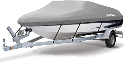 """Jon Boat Trailerable Cover 15/' to 16/' Max 67/"""" Beam OB Made in USA"""