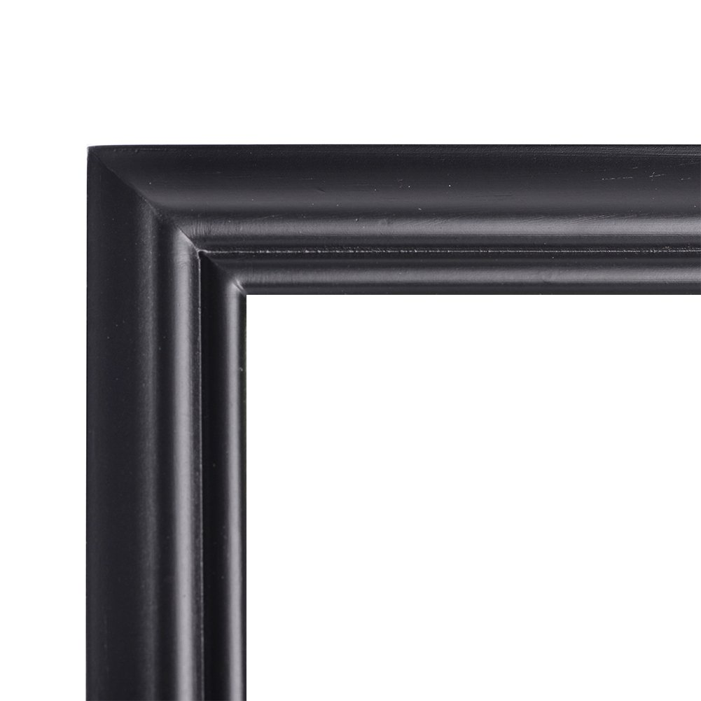 RPJC Document Frame/Certificate Frames Made of Solid Wood High Definition Glass and Display Certificates 8.5x11 Inch Standard Paper Frame Black by RPJC (Image #2)