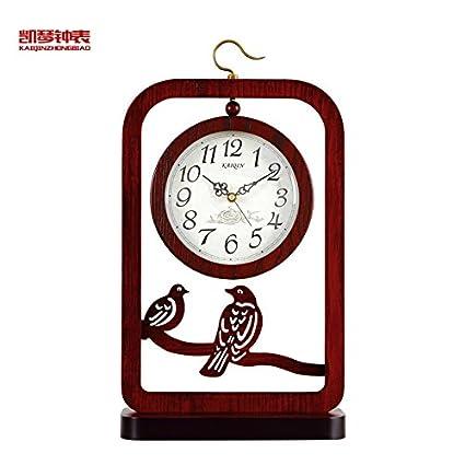Y-Hui El Nuevo Clásico del Reloj Base Silencio Sentado Gran Escritorio Reloj Reloj de