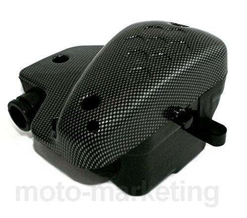 AIR FILTER BOX COVER CARBON COMPLETE for PEUGEOT XFIGHT XRACE X RIGHT RACE 50: