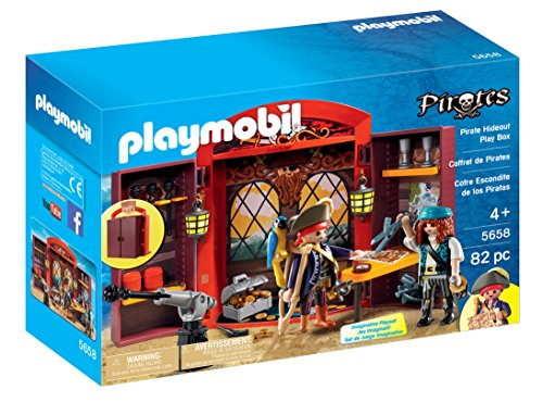 Pirate Hideout Play Box Playset