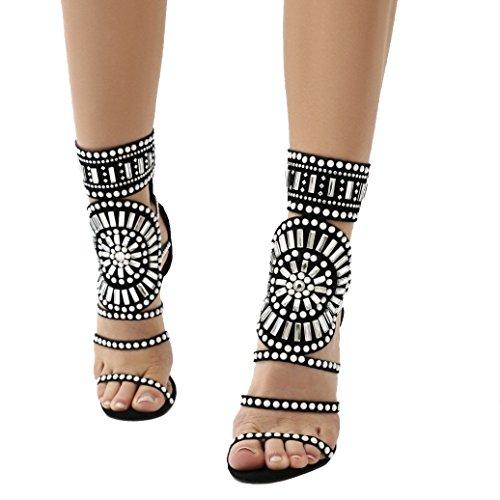 Public Desire Cleopatra Womens Sandals Black from PUBLIC DESIRE