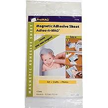 "ProMag Adhesive Magnetic Sheet-4""X6"" 4/Pkg"