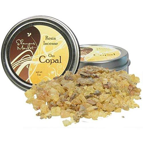 Shamans Market Copal Resin Incense - Oro - Gold 1 oz